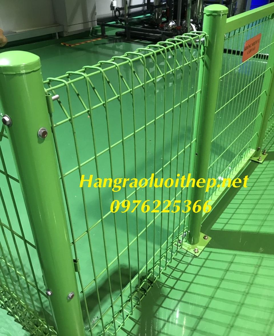 Hàng rào sơn tĩnh điện, Hàng rào gập đầu, hàng rào chấn sóng