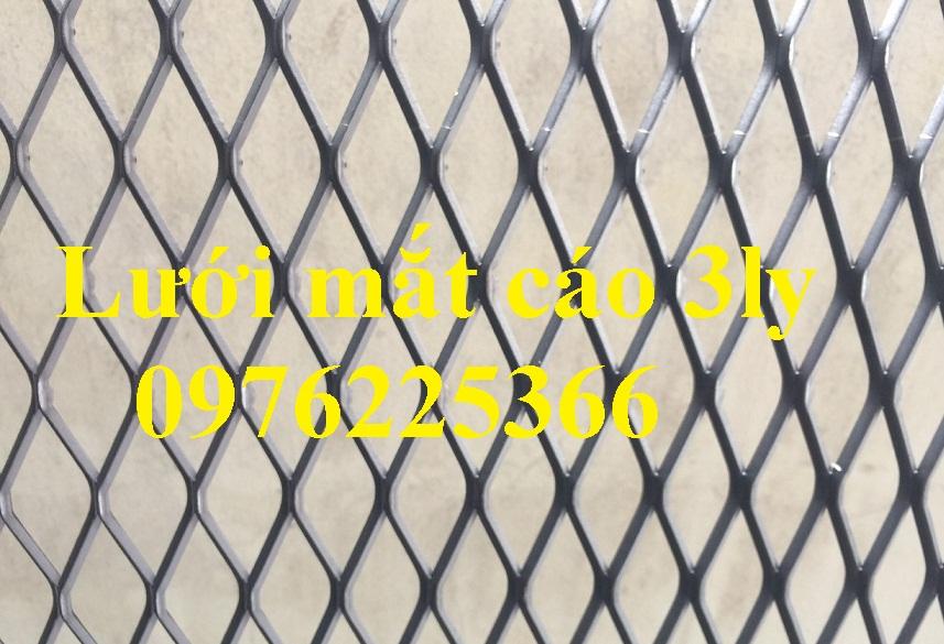 Lưới mắt cáo 3ly , lưới dập giãn 3ly