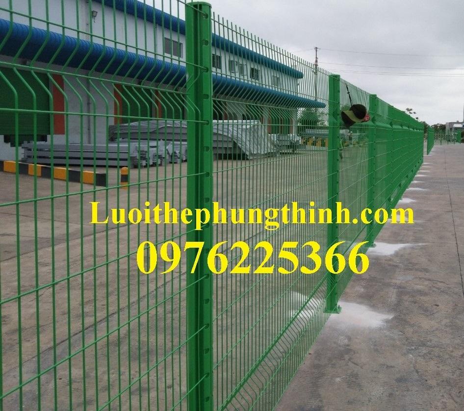 Hàng rào lưới thép phi 5 A (50*200), (50*150), (75*200)